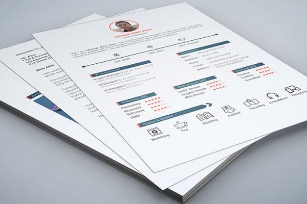 10 mẫu thiết kế CV đẹp gây ấn tượng mạnh cho nhà tuyển dụng